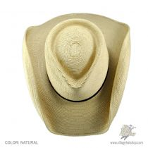 Aussie Tear Drop Guatemalan Palm Leaf Straw Hat in
