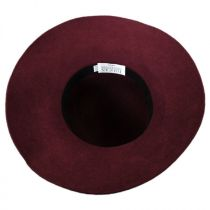 Satin Brooch Wool Felt Floppy Hat alternate view 5