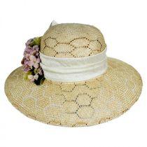 Bouquet Sisal Straw Sun Hat alternate view 2