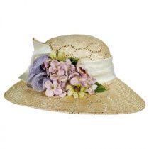 Bouquet Sisal Straw Sun Hat alternate view 3
