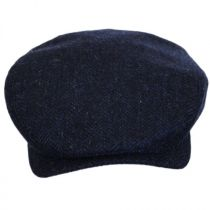 Herringbone Wool Ivy Cap in