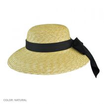 Milan Straw Boater Sun Hat alternate view 5