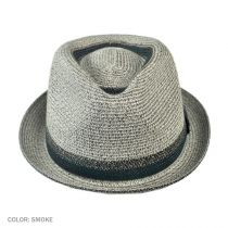 Archer Toyo Straw Braid Fedora Hat in