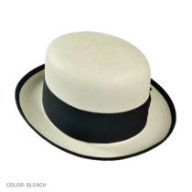 Chaplin Panama Straw Bowler Hat alternate view 2