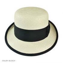 Chaplin Panama Straw Bowler Hat alternate view 3