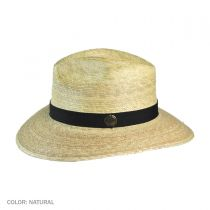 Explorer Palm Straw Safari Fedora Hat alternate view 3