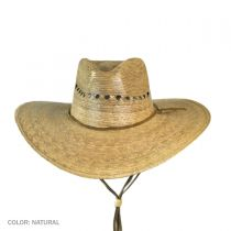 Gardener Lattice Palm Straw Wide Brim Hat alternate view 3