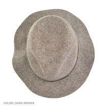 Jackman Packable Wool LiteFelt Fedora Hat in