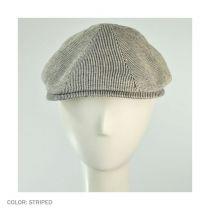 Redford Pinstripe Cotton Duckbill Ivy Cap alternate view 2