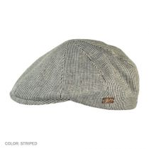 Redford Pinstripe Cotton Duckbill Ivy Cap alternate view 3