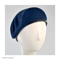 Military Wool Beret in