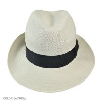 Thurman Panama Straw Fedora Hat alternate view 3
