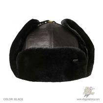 Vega Leather Trapper Hat alternate view 4
