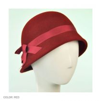 Heritage Collection 1920s Flapper Wool Felt Hat in