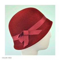 Heritage Collection 1920s Flapper Wool Felt Hat - Made to Order