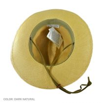 Explorer Panama Straw Fedora Hat - Made to Order in
