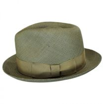 Havana Panama Straw Fedora Hat in