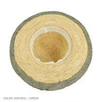 Margate Raffia Straw Floppy Sun Hat alternate view 15