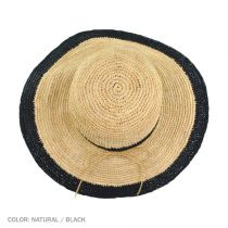 Margate Raffia Straw Floppy Sun Hat alternate view 4
