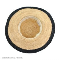 Margate Raffia Straw Floppy Sun Hat alternate view 5