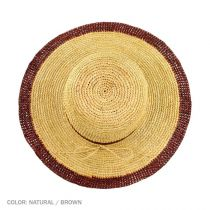 Margate Raffia Straw Floppy Sun Hat alternate view 9