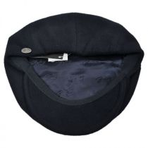 Galvin Solid Newsboy Cap alternate view 4