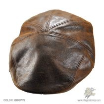 Taxten Weathered Leather Ivy Cap in