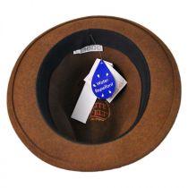 Charlie Wool LiteFelt Fedora Hat alternate view 8
