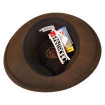 Branson Wool LiteFelt Fedora Hat in
