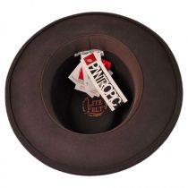 Robin Wool LiteFelt Fedora Hat in