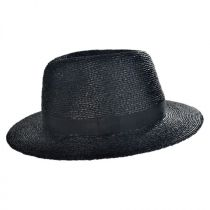 Ladon Raffia Straw Fedora Hat in