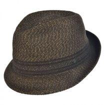 Vito Toyo Straw Braid Trilby Fedora Hat in
