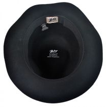 Obie Rollable 4oz Wool LiteFelt Fedora Hat in