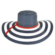 Demetria Toyo Straw Sun Hat alternate view 4