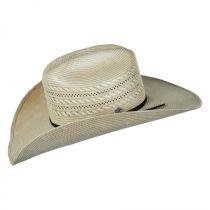 Vinton 20x Toyo Straw Western Hat in
