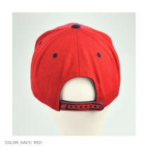 Back 2 Front Cleveland Indians Snapback Baseball Cap