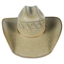 Jax 15X Shantung Straw Western Hat alternate view 2