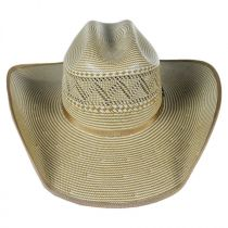 Jax 15X Shantung Straw Western Hat alternate view 18