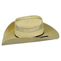 Cassius 7X Toyo Straw Western Hat alternate view 15