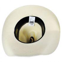 Cutter Toyo Straw Western Hat in