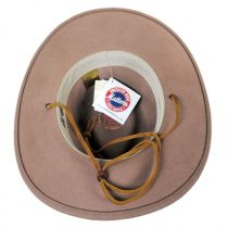 Columbia Crushable Wool LiteFelt Western Hat alternate view 16