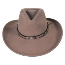 Nock Crushable Wool LiteFelt Western Hat alternate view 10