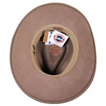 Nock Crushable Wool LiteFelt Western Hat alternate view 12