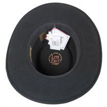 Joker LiteFelt Wool Gambler Western Hat in