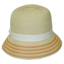 Tricia Straw Cloche Hat alternate view 3