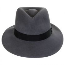 Ammon Wool Felt Teardrop Fedora Hat alternate view 14