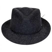 Snap Carter Wool Felt Fedora Hat alternate view 2