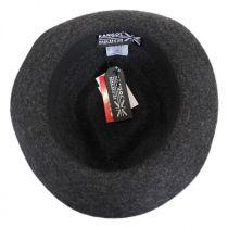 Snap Carter Wool Felt Fedora Hat alternate view 4