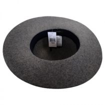 Laced Suede Band Wool Felt Floppy Hat alternate view 4
