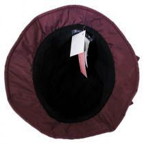Maggie Poly Rain Cloche Hat in